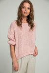 LILYA LUCCA KNIT DUSTY PINK