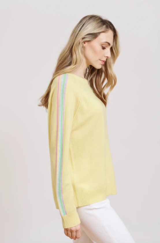 ALESSANDRA RAZZLE DAZZLE SWEAT - LEMON