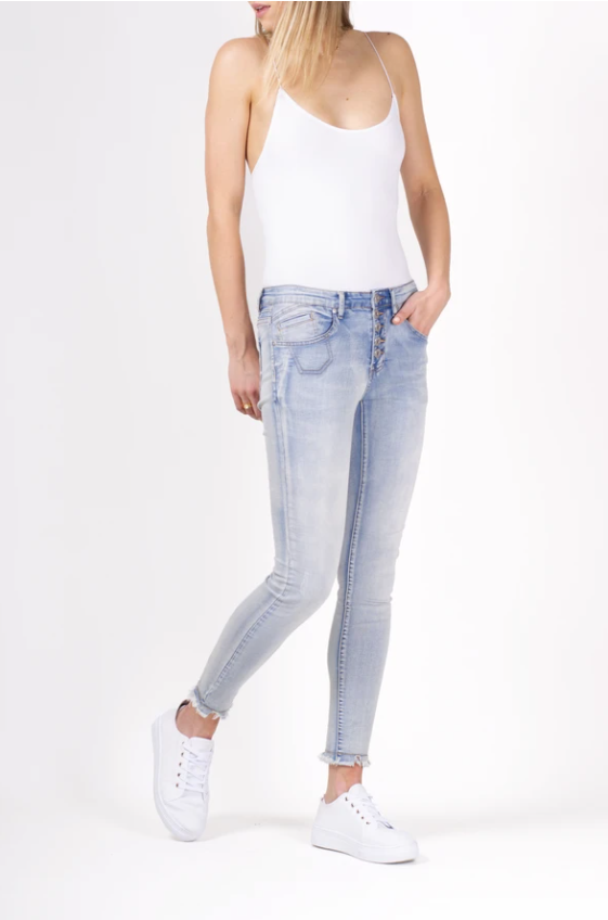 BIANCO BOYFRIEND SHERRY DENIM