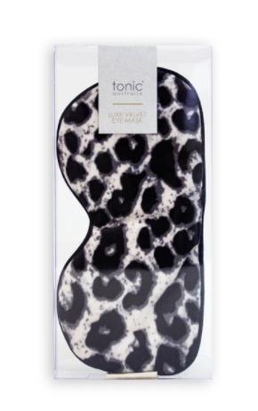 TONIC LUXE VELVET EYE MASK (MORE COLOURS AVAIL)