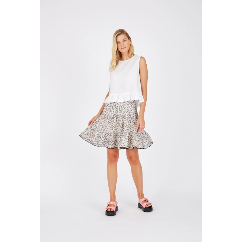 ALESSANDRA SOPHIA SKIRT - ANIMAL