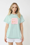 ARATTA THOUGHT OF YOU SHIRT TEAL