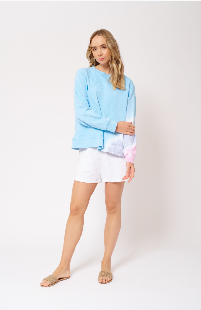 ALESSANDRA LOLLIPOP AQUA SWEATER