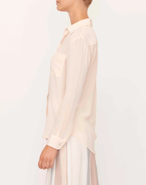 POL WAVE SHIRT - CREAM