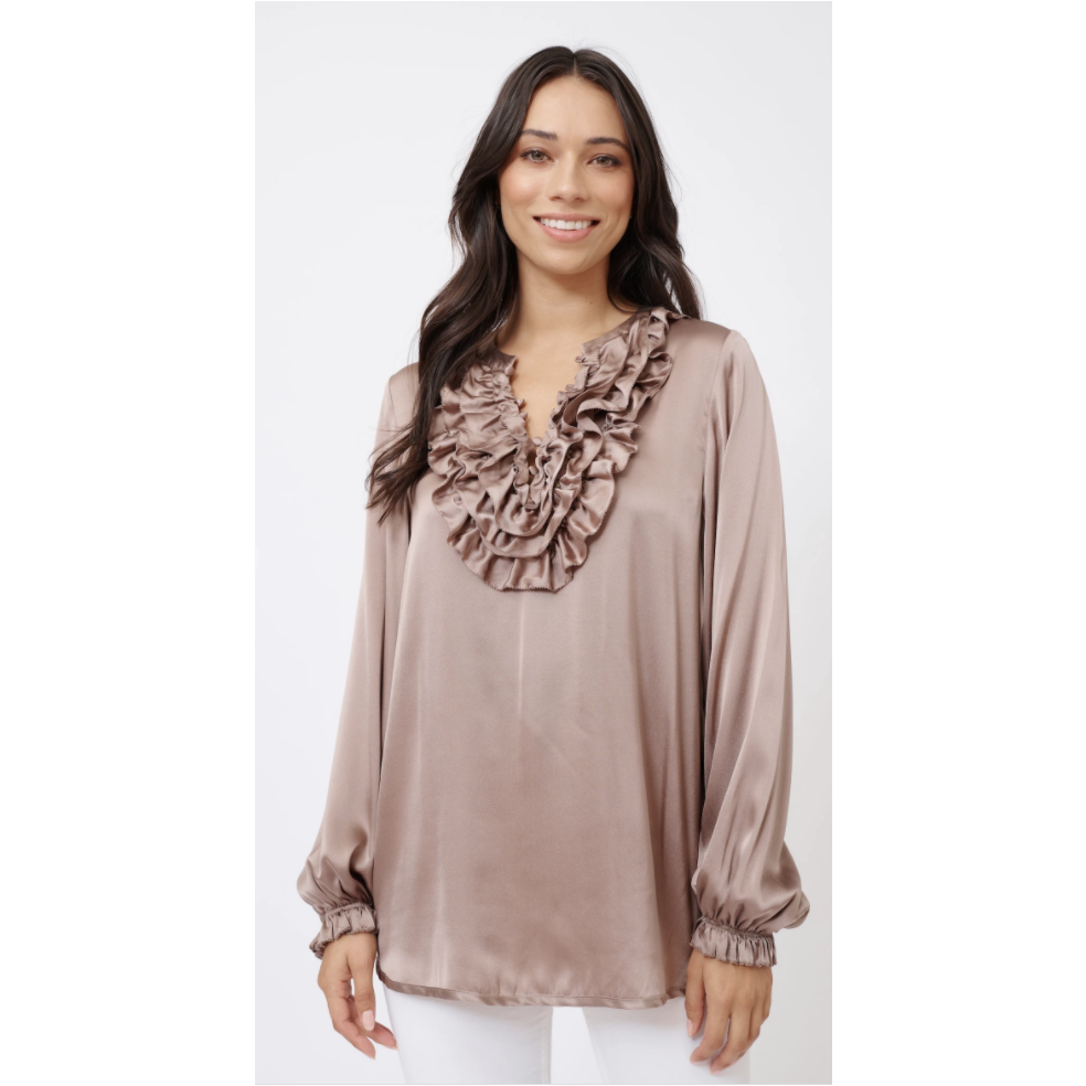 ALESSANDRA KEIRA SHIRT - COPPER