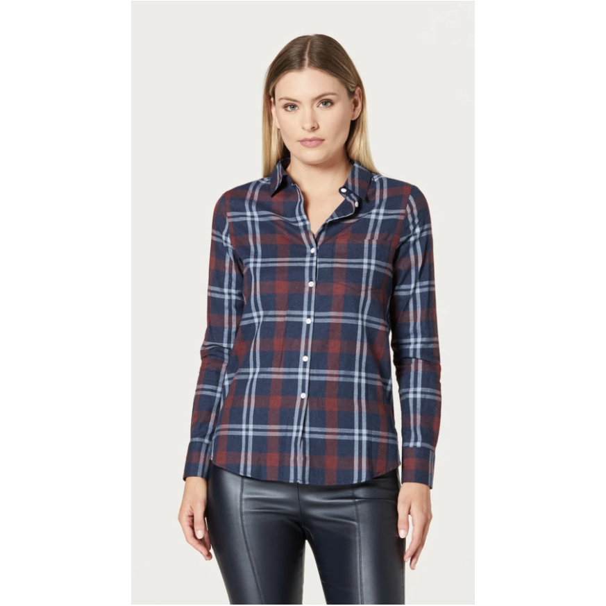 CABLE PRESLEY COTTON SHIRT