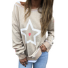CAT HAMMILL PALM BEACH SWEAT - WHITE STAR