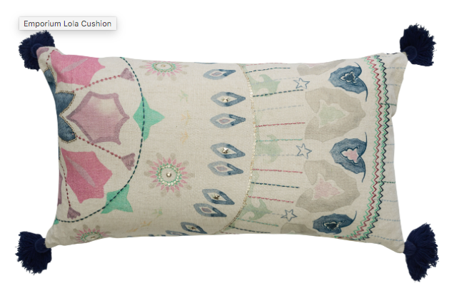CANVAS EMPORIUM LOLA CUSHIONS COVER 30X60
