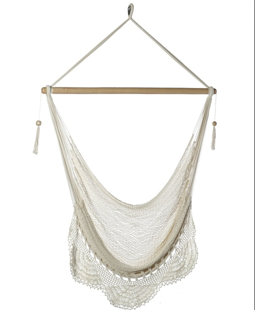 HAMMOCK NATURAL CHAIR WITH CROCHET