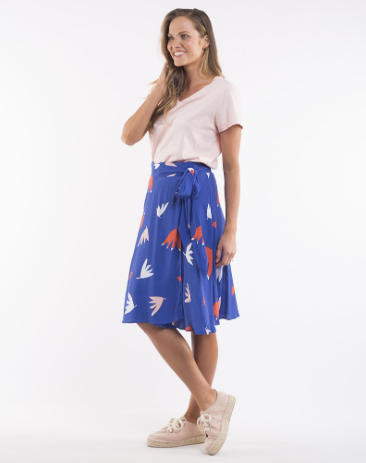 ELM LIFESTYLE FALLING LEAVES SKIRT