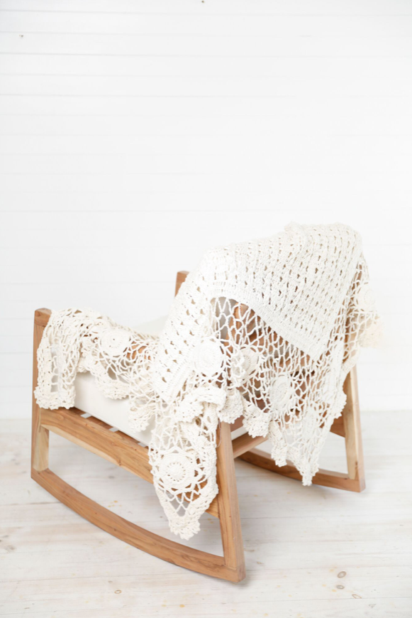 SHANTY SEVILLE CROCHET THROW