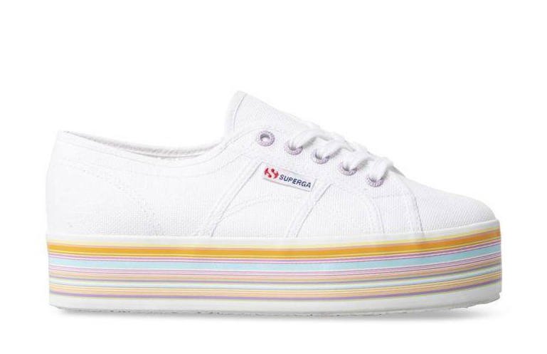 SUPERGA MULTICOLOUR PLATFORM
