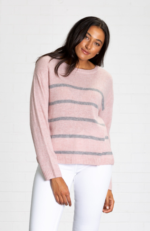 RIDLEY STRIPE SWEATER