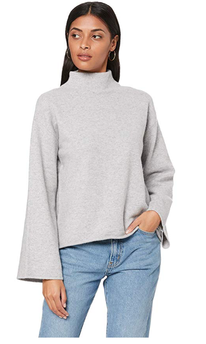 ST CLOUD PARNIS MOCK NECK JUMPER