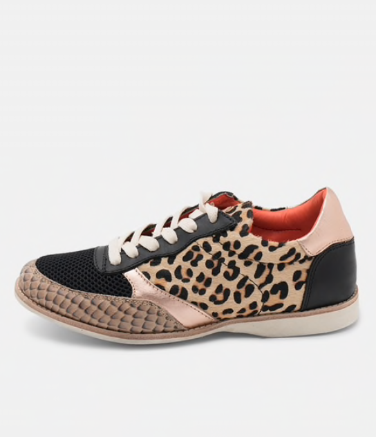 ROLLIE Trainer Rose Leopard