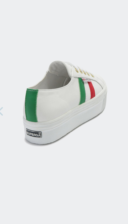 SUPERGA WHITE ITALIAN SHOE
