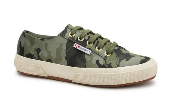 SUPERGA GREEN CAMO