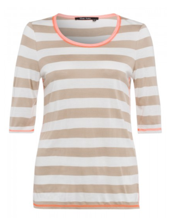 MARC AUREL STRIPE TEE 72917-