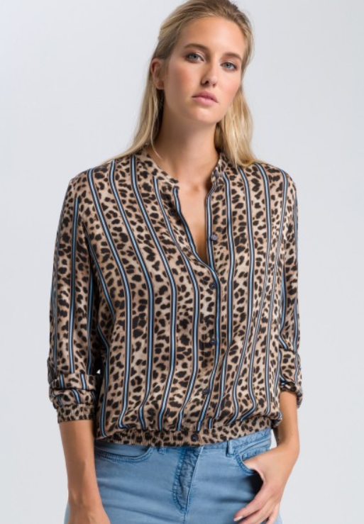 MARC AUREL BLOUSE 24209 LEOPARD