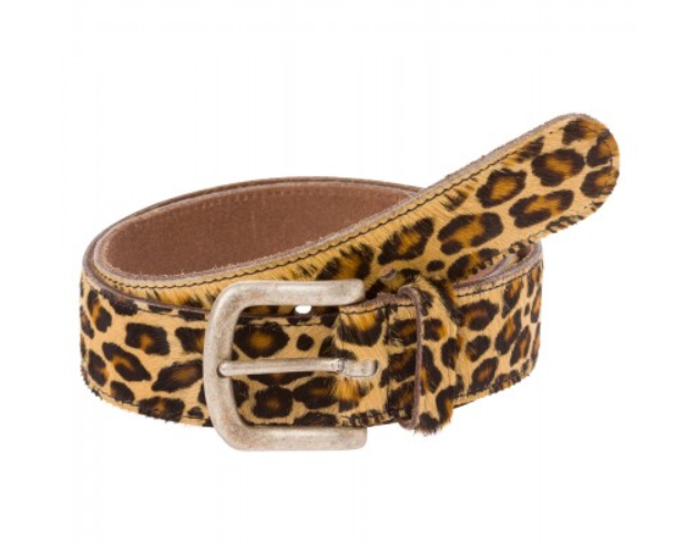 MARC AUREL BELT LEOPARD