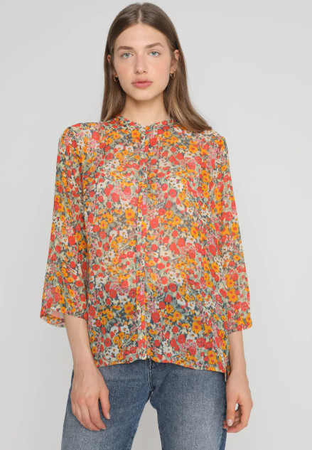 SECOND FEMAILE BLOOM BLOUSE
