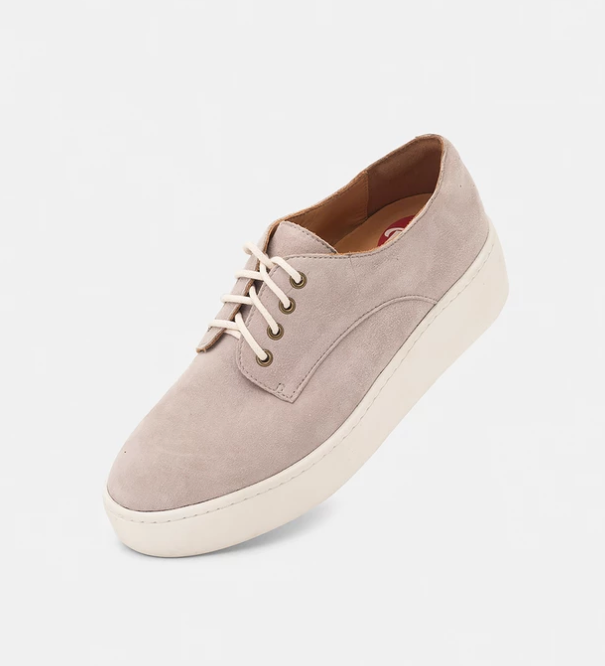 ROLLIE Derby City Grey Kid Suede