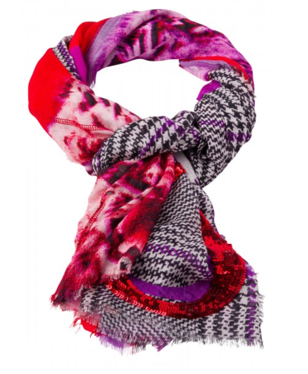 MARC AUREL PURPLE SCARF