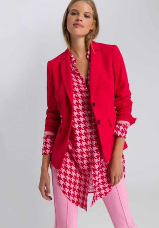 MARC AUREL RED BLAZER