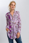 MARC AUREL FLORAL SHIRT