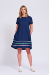ALESSANDRA MONACO SWING DRESS - NAUTICAL