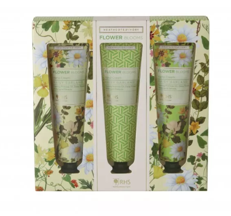 RHS Flower Blooms Daisy Garland Hand Cream Collection
