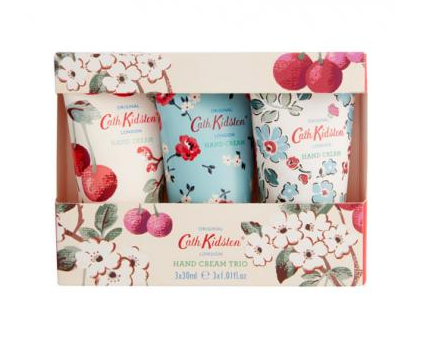 CATH KIDSON Mini Cherry Sprig Hand Cream Trio