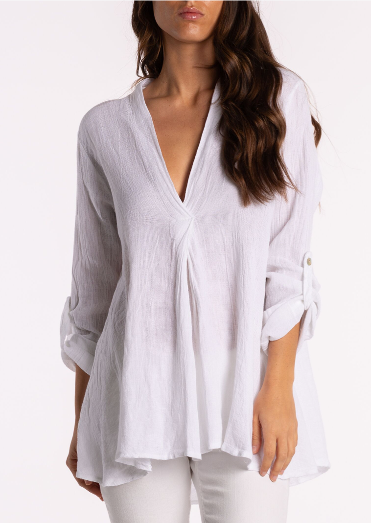 RIDLEY V NECK TUNIC 39077