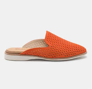 ROLLIE MADISON MULE PUNCH CORAL SUEDE
