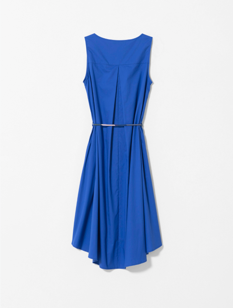 ELK NYLAND DRESS COBALT