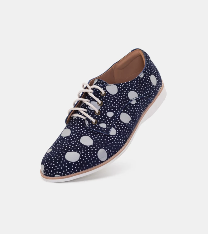 ROLLIE DERBY NAVY ARTISTIC DOTS