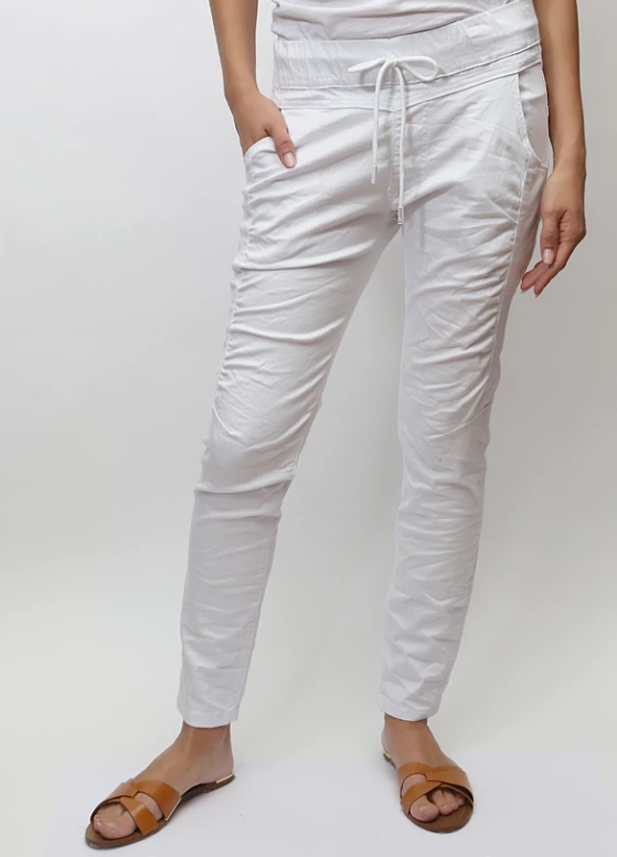 BIANCO JOGGER - SOLID WHITE