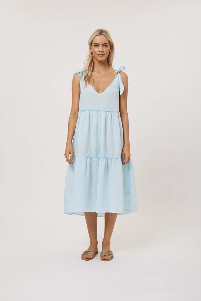 ALESSANDRA SANTORINI DRESS