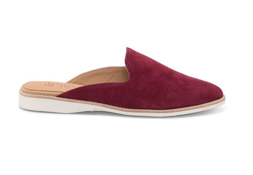 ROLLIE MADISON MULE RED PEAR SUEDE