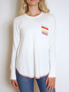 Z & P RAINBOW POCKET PULLOVER
