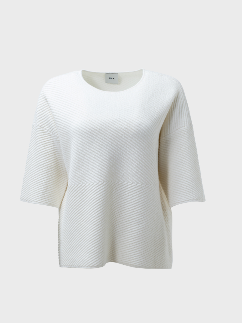 ELK GLENNA KNIT - WHITE