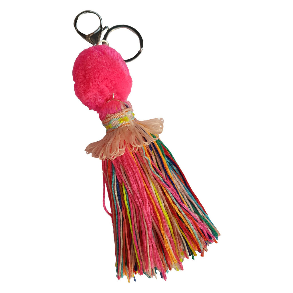 CANVAS & SASSON FIESTA TASSEL