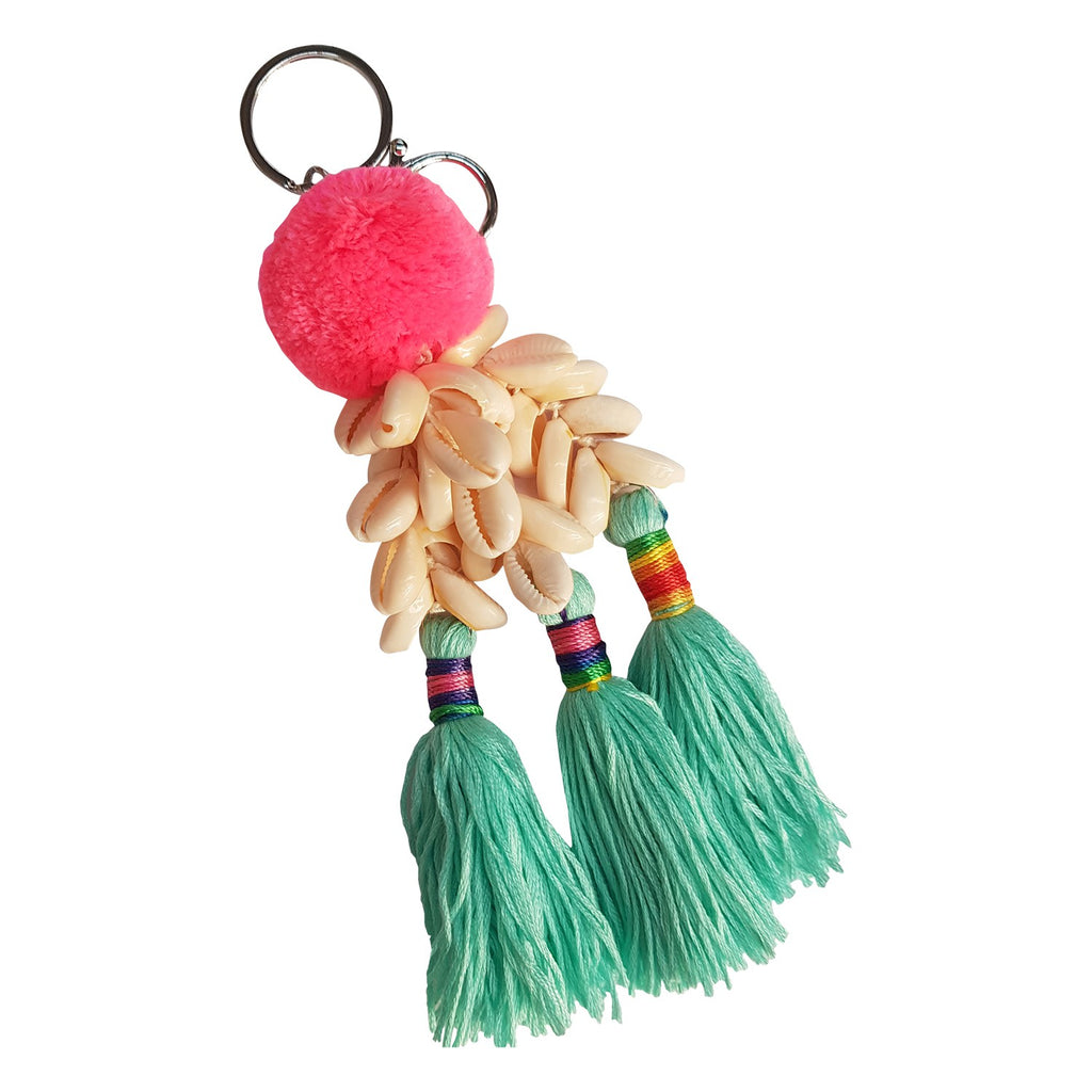 CANVAS & SASSON KEYRING SUMMERTIME