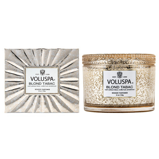 VOLUSPA BLOND TABAC CORTA CANDLE