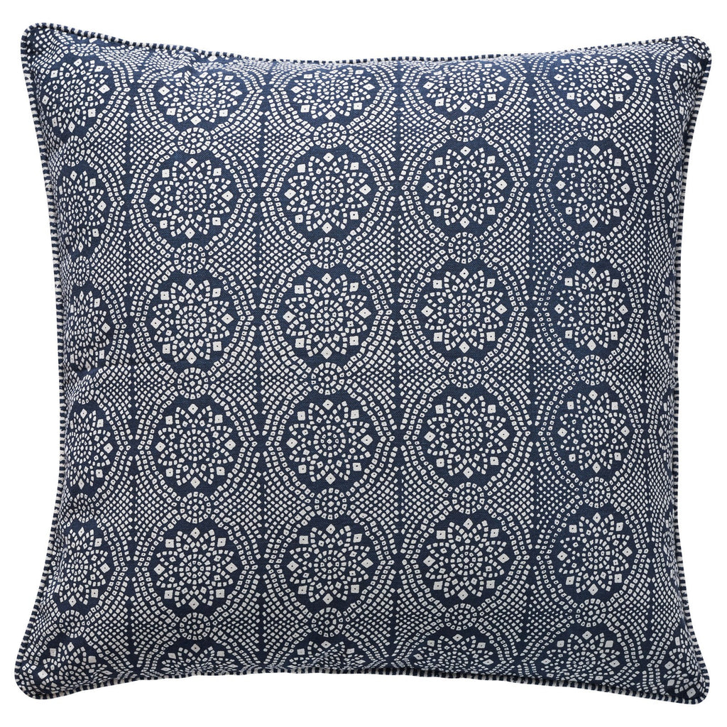 CANVAS MILIEU BANDANI CUSHION COVER 50X50