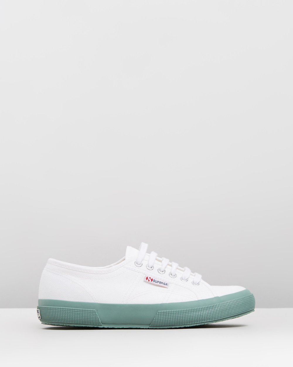 SUPERGA WHITE GREEN BAY