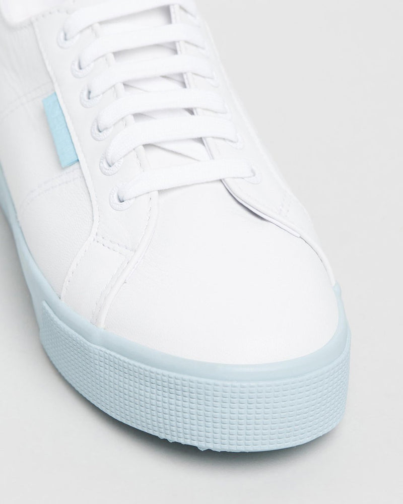 SUPERGA NAPPALEAU WHITE-BLUE 2730