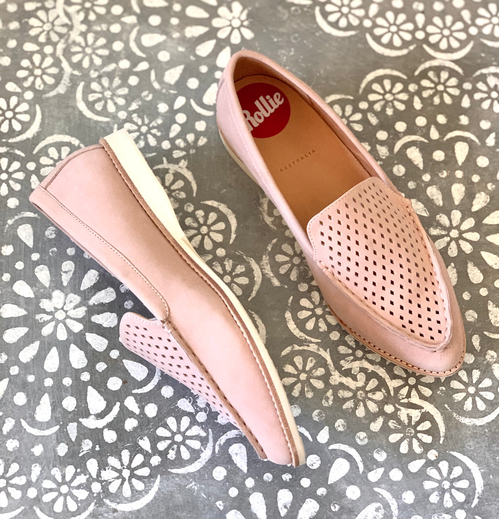 ROLLIE MADISON LOAFER PUNCH SNOW PINK