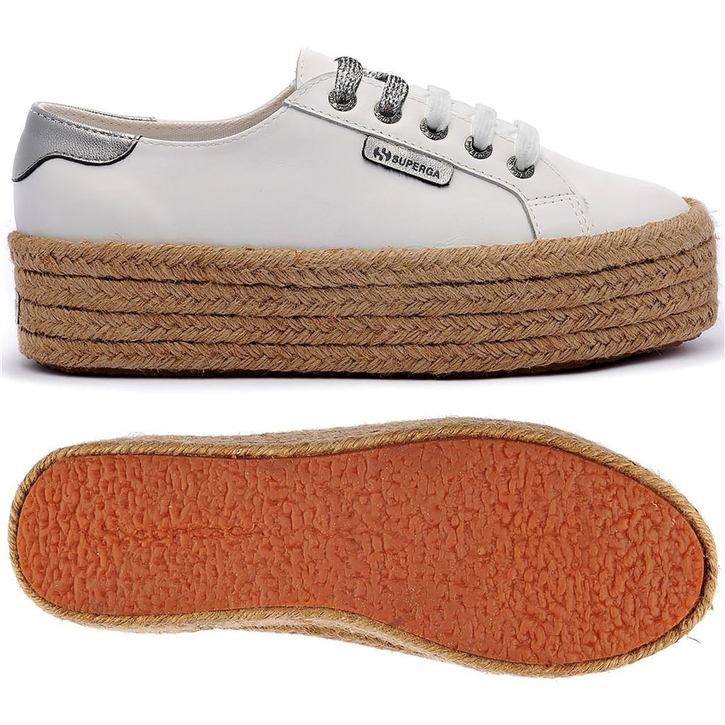 SUPERGA WHITE  ROPE