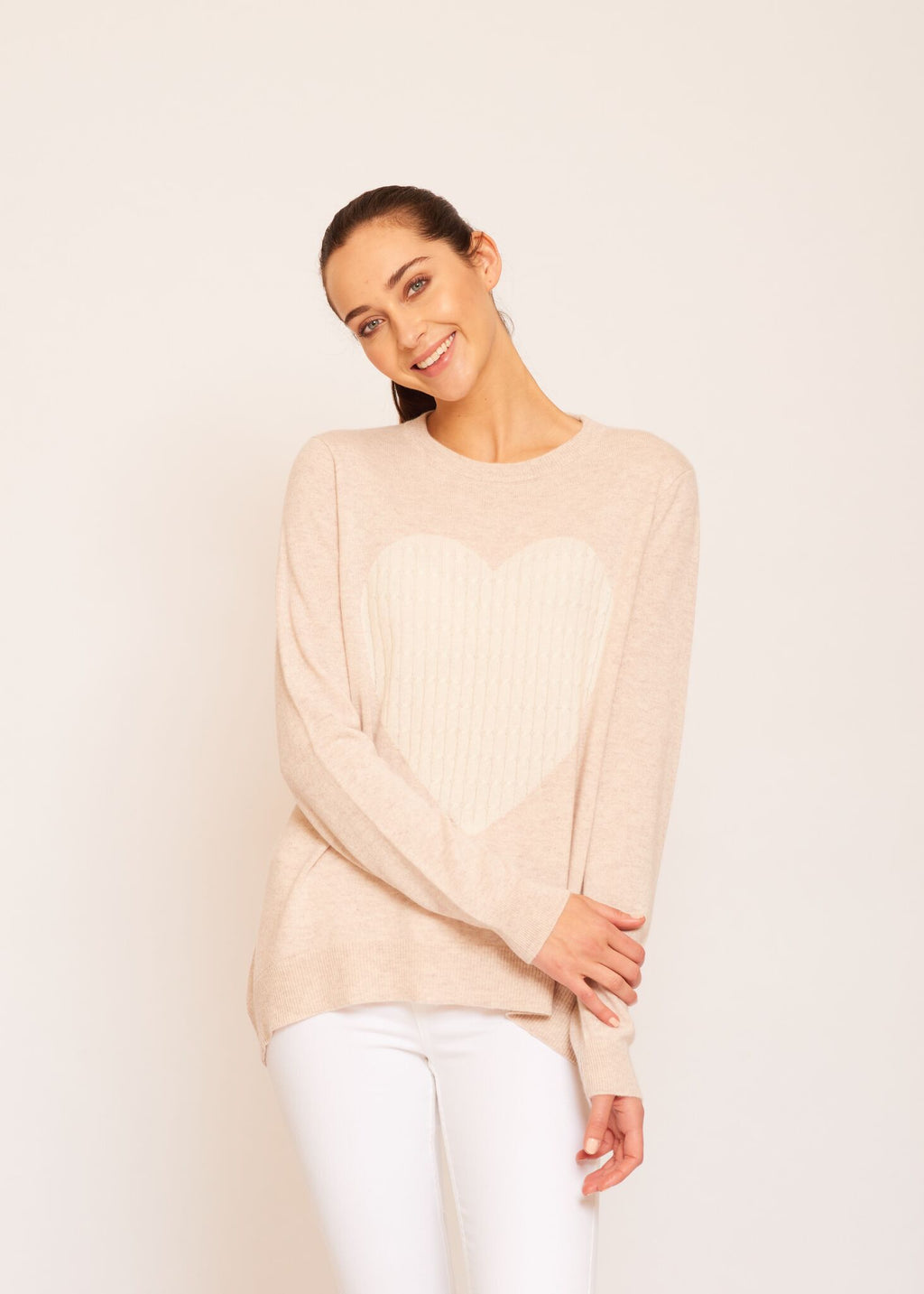 ALESSANDRA TOTAL ECLIPSE OF THE HEART SWEATER OAT